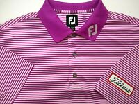 FOOTJOY TITLEIST Tour Issued Men's Large Golf Polo Shirt Embroidered Patch