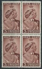 Trinidad and Tobago (until 1962) Block Stamps