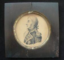 Lord Nelson c.1806 Watercolour Portrait by Lieut. of HMS Achille at Trafalgar