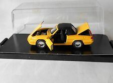 Alfa Romeo Spider S4 Yellow Hood Up 1990 ARS 1/43 Diecast Mint Condition
