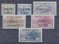 Colonies françaises - Indochine - n° 90 à 95*