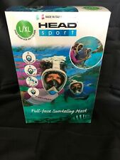 HEAD Sport Full Face Snorkeling Mask Large to Extra Large Panoramic Sea View