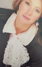 "FCl30 - Knitting Pattern For A Scarf / Voile / Cravat - Length - 52cm (20.5"")"
