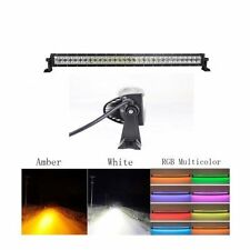 "50"" halo led Light Bar curved 50 inch MutiColored RGB white/amber switchback"