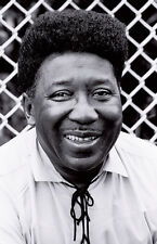 MUDDY WATERS Photograph by Baron Wolman, 13x8.5 on 20x16, SIGNED