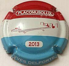 Capsule de champagne DELPORTE Yves (37c. Placomusolux 2013)