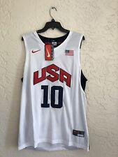 RARE🔥 NIKE Kobe Bryant # 10 Olympic Dream Team Jersey Sz XXL/EBM/Stitch