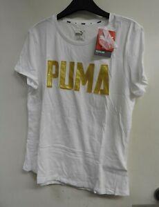 Puma Women's Athletics Tee Puma White XL