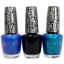 OPI Nail Polish Blue, Navy and Turquoise Shatter