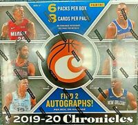2019-20 Panini Chronicles Basketball Hobby Box ZION JA ROOKIE AUTO? mosaic prizm