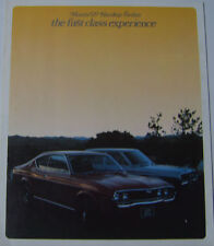Mazda 929 Saloon Coupe 1973-76 Original UK Foldout large format Sales Brochure