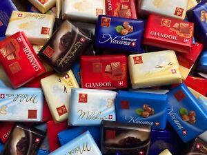 SWISS CHOCOLATE SELECTION NAPOLITAINS - FREY | MILK | DARK 72% | WHITE | HAZELNU