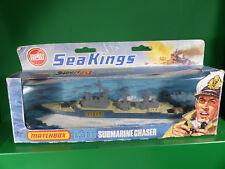 Matchbox K-305 Seakings Submarine Chaser Diecast Boot Lagerfund in Box - NOS