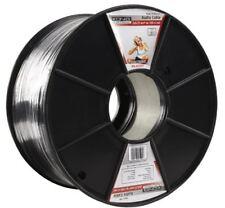 Konig 100 M Professionnel 4.2x8.4mm Plat Câble Audio-Noir