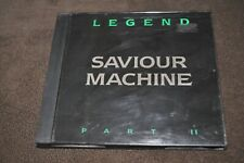 Saviour Machine - Legend Part II CD 1998 Massacre Germany black case