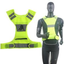 Sports Night Running Cycling Safety High Visibility LED Reflective Vest Jacket