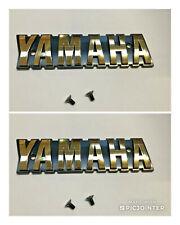 2 Stück Tankemblem Emblem Schrauben gold Satz Yamaha XS 650 XS 400 XS 750 NEU