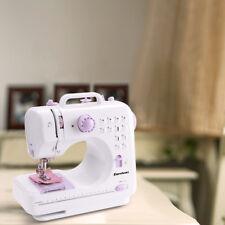 Máquina de Coser Automática Costura Multifunción Dual Velocidad Ajustable Sewing