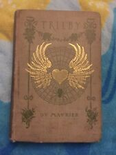 Trilby by George Du Maurier 1894 hardcover Book