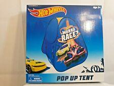 HOT WHEELS Children's Pop Up Tent WANNA RACE? Indoor tent 3 +