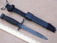 Bayonet Knife Imperial & NOS M10 Scabbard Genuine USGI Military USMC Army