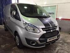 FORD TRANSIT CUSTOM  ST SPORT BONNET STRIPES  VINYL GRAPHICS DECALS