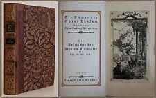 Wieland: Die Geschichte des Prinzen Biribinker 1923 -Nr. 666/800 Belletristik xz