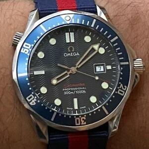 OMEGA SEAMASTER 300M PROFESSIONAL 196.1504 JAMES BOND WATCH 100% GENUINE 41MM