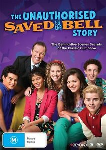 The Saved By The Bell - Unauthorised Story - DVD - Brand New & Sealed