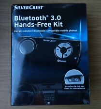 SilverCrest Bluetooth 3.0 Hands-Free Kit Black new