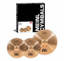 """Meinl HCS Bronze Basic Cymbal Set 14"""" HiHat 18"""" Crash Ride Einsteiger B8 Becken"""