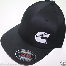 Cummins Hat Ball Cap Flex Fit Flexfit ESTIRAMIENTO AMUEBLADA Cummings Ram Negro Lg/XL