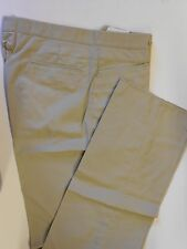 "NOS Vtg '90's Tonix NOLOGO Golf Coaches Pants Slacks Size 34"" No Hem Tan"