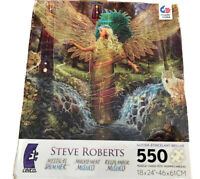 Goddess Mystical Shimmer Steve Roberts 550 Piece Ceaco Glitter Puzzle. Free Ship
