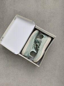 Mens Adidas Originals Pharrell Williams PW Tennis HU Linen Green Size UK10.5 VGC