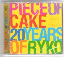 (GQ202) Piece of Cake, 20 Years of Ryko, 20 tracks - 2003 - Sealed Mojo CD