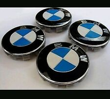 X4 BMW ALLOY WHEEL CENTRE CAPS EMBLEMS 68MM FITS X5 E70 [2007-2013] SUV