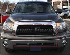 2007-2009 Toyota Tundra Black Billet Grille-Upper+Lower Combo 4Pcs