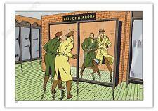Ex-libris BARRAL Philip et Francis Hommage Blake et Mortimer 21x29,7 cm