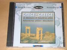 CD / GRECE / LES BOUZOUKIS DE PARASKEVAS GREKIS / RARE / NEUF SOUS CELLO