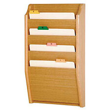 Wooden Mallet Ch14-2 Light Oak Four Slot Chart / File Holder