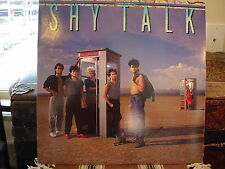 SHY TALK - SELF TITLED - OOP 1985 AOR GOLD STAMP PROMO - LP - EX NM