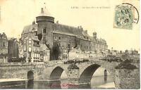 LAVAL le vieux pont et le château