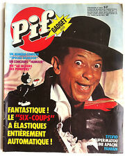 Pif Gadget n°448 de 10/1977; Spécial Henri Salvador