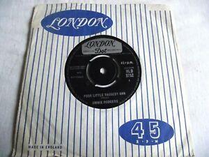 JIMMY RODGERS ~ POOR LITTLE RAGGEDY MAN ** 1963 LONDON 45 EX+