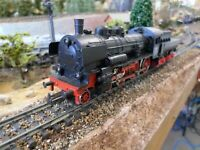Marklin 3098 HO DB Br 38 Steam Locomotive with Tender 3 Rail (Analogue)