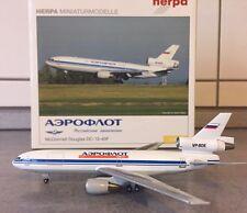 Herpa Aeroflot Cargo DC-10-40F 1:400 560795