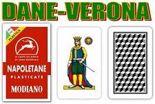 Carte da Gioco regionali Napoletane Modiano 100 Plast.
