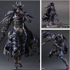 """11"""" Batman Dark Knight Timeless Wildwest Square Enix Play Arts Kai Figure In Box"""
