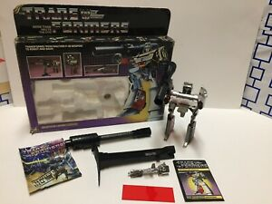 Megatron Transformers G1 Vintage Complete with Original Box and Instructions